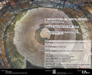 L'Architettura del Diritto Morale, Milano 2014